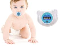 Baby Nipple Thermometer Termometro Baby Pacifier LCD Digital Mouth Nipple Pacifier Chupeta Termometro Testa Free Shipping