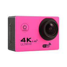 Buy F60R Pink Action Camera 4K 30FPS Wifi Ultra HD 16MP 30M Waterproof 170D Mini Go Xiao Pro yi 4k Helmet Deportiva Sport Camcorder for $39.08 in AliExpress store