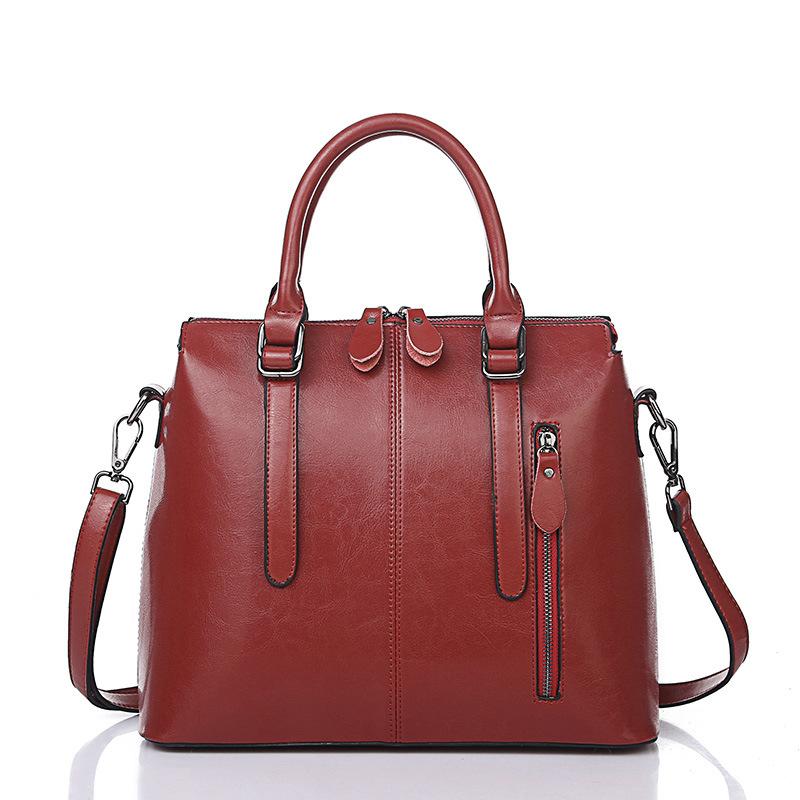 100% Guarantee Genuine Leather Bag High quality Natural  women messenger bags Vintage shoulder crossbody bag New 2016 BG516<br><br>Aliexpress