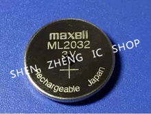 Buy 5pcs 3V Rechargeable Maxell ML 2032 ML2032 Coin Cell Button CMOS BIOS RTC Back Up Reserve Battery for $10.95 in AliExpress store