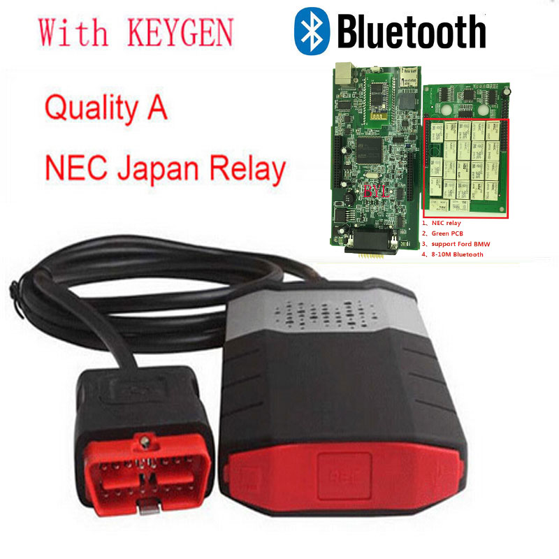 For Autocom cdp pro plus Diagnostic tool Bluetooth For DS150E New Vci +Keygen for car/truck detector obd scanner tools <br><br>Aliexpress