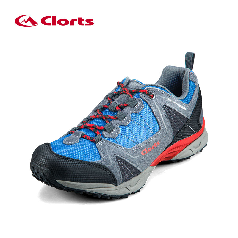 Clorts Low-Cut Men Climbing Shoes for Spring Summer Mesh Breathable Hiking Shoes Anti-Slipping Male Outdoor Shoes 3D028A/B<br><br>Aliexpress