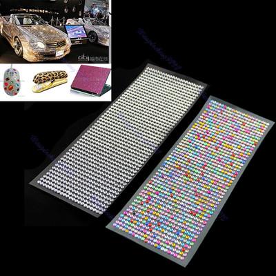 Z101DIY 4mm 1000pcs Crystal Diamond Decoration Sticker For Car Mobile PC Nail Art<br><br>Aliexpress