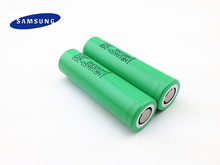 2PCS 100% New Original 18650 Battery 3.7V 2500mah  20A Discharging INR 18650-25R Rechargeable Battery For Samsung Free Shipping
