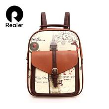 2016 Brand women fashion backpack high quality women leather backpack travel bag school leisure backpack mochila feminina bag(China (Mainland))