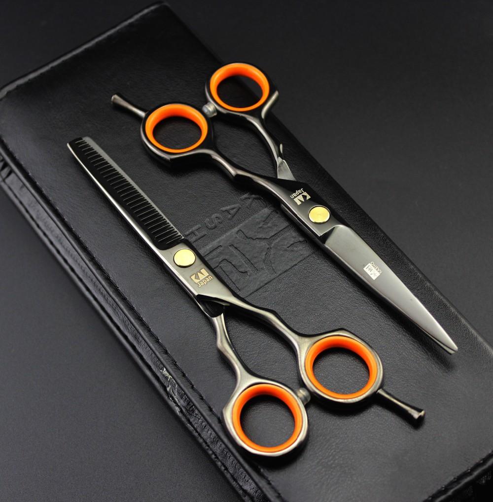 2 Scissors+Bag+Comb Japan High Quality Kasho 5.5/6.0 Inch Professional Hairdressing Scissors Hair Cutting Barber Shear Set Salon(China (Mainland))