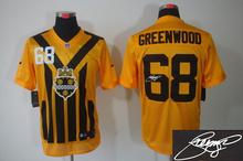ALL Style Signature ! New arrival,Pittsburgh Steelers 53 Maurkice Pouncey 56 woodley 58 Jack Lambert 63 Dermontti Dawson(China (Mainland))