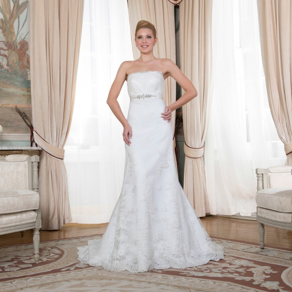 Buy discount opulent strapless bridal for Wholesale wedding dress suppliers
