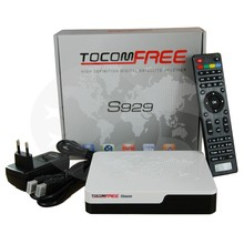 TOCOMFREE S929 Full HD DVB S/S2 Twin Tuner MPEG 2/4 H.264 IKS + SKS Chile Brazil South America IPTV