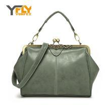 Y-FLY New Arrivals 2016 Brand Women Messenger Bags Retro Women's Handbag PU Nubuck Leather Bags High Quality Tote Bag Lady HC125