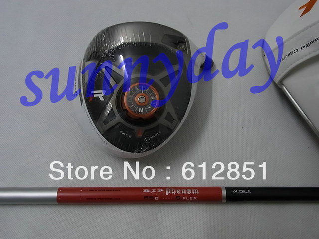 1 pc New Arrival R1 golf driver with RIP graphite shaft R/S Flex and free headcover wrench freeshipping