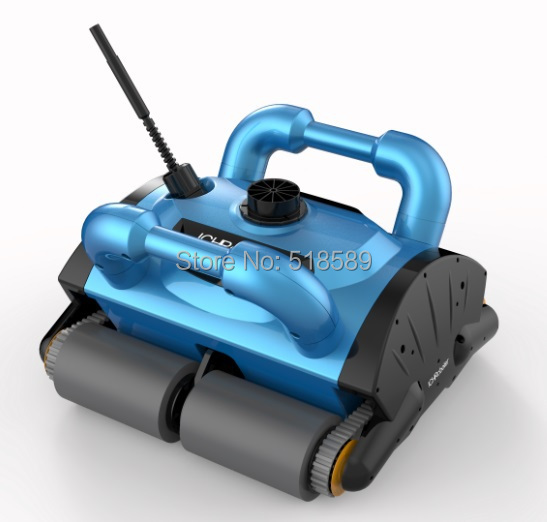 Free Shipping Upgrade iCleaner-200 Swim Pool Robot Cleaner Swimming Pool Automatic Cleaning Robotic Pool Cleaner(China (Mainland))