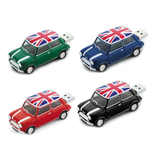 Garunk Free shipping Creative U disk 2GB 4GB 8GB 16GB 32GB USB Mini cooper cute mini car usb flash drive(China (Mainland))