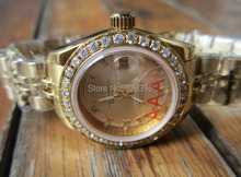 Ladies Watches 26mm watch mechanical ceramic R0LEs watches 69173