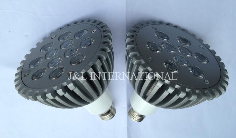 Free shipping 9*1w 12*1w PAR38 spotlight LED Lamp Bulb ,E27 Spot Light ,Cool White| Warm White, 85V-265V,25pcs/lot(China (Mainland))