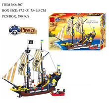 New Pirate Series Pirate Ship Dragon Boat Model Building Blocks Sets Minifigures Compatible With Legoed Lbk_qm_025