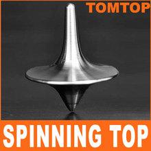 Von der Gründung Film Spinning-Top mit zink-legierung silber Gründung Edelstahl Kreisel Totem Kostenloser Versand(China (Mainland))