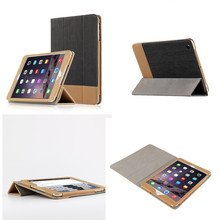 SD Luxury Stitching PU Leather Book Case For iPad Air 1 Auto Wake-up Function Smart Cover For iPad Air1 Ipad5 Tablet+Film gift(China (Mainland))