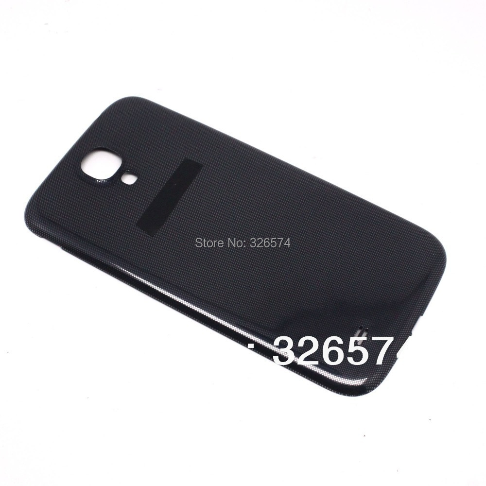 Original Replacement Back Repair Parts Panel Rear Case Housing BATTERY DOOR COVER For SAMSUNG GALAXY S4 I9500(China (Mainland))