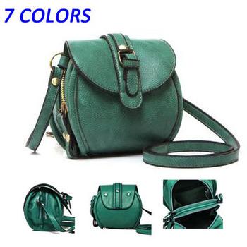 hot sale brand Double zipper Women  messenger bags New  2014 small shoulder bags evening bags fashion PU leather handbags