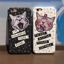 The case For IPhone6/6S/6Plus/6S Plus Cute cat design High quality mobile phone box cover The hard shell of Case Cover