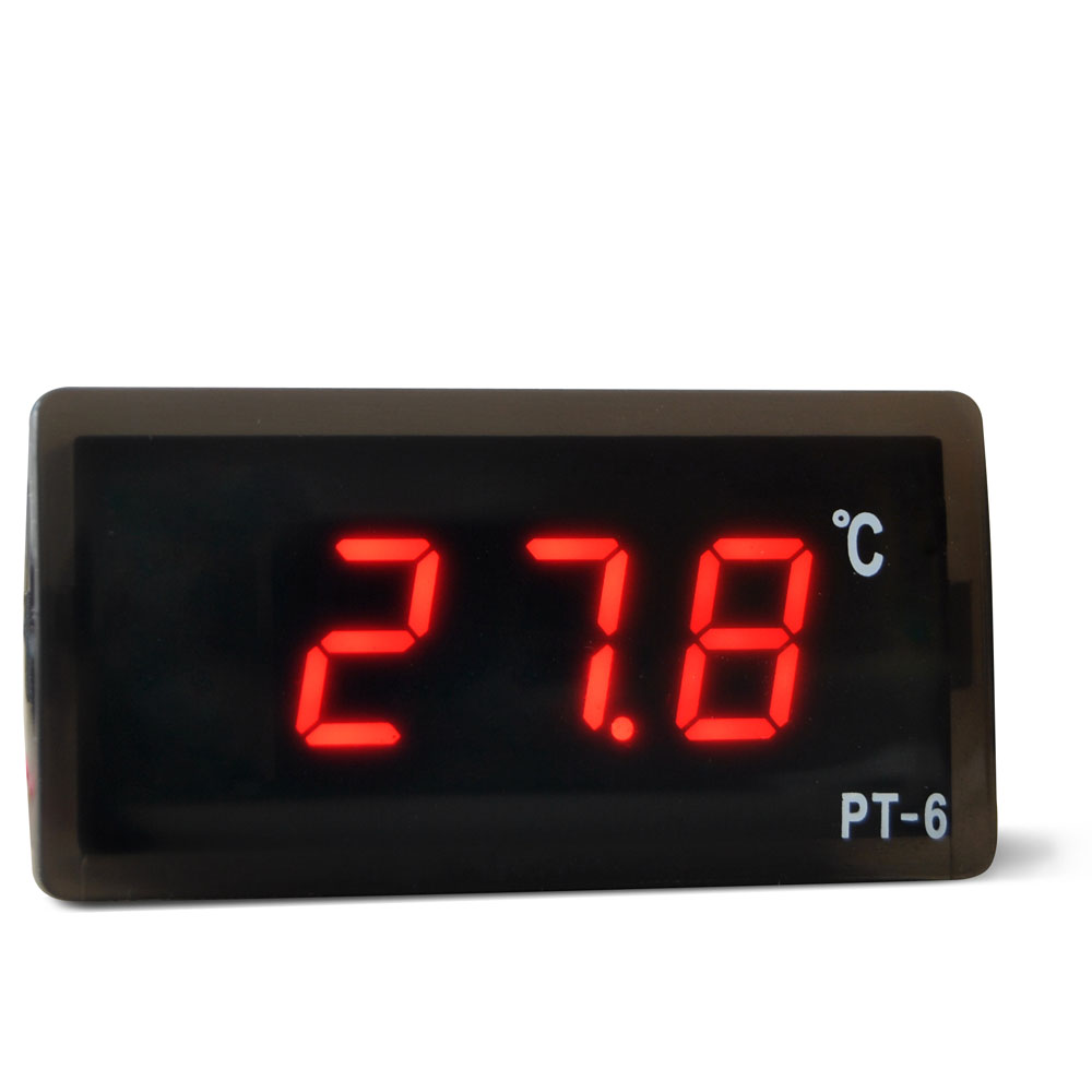 12V Digital LED Vehicle Digital car Thermometer for car LED Temperature Meter Probe -40C-110C Breeding Temperature Controller(China (Mainland))