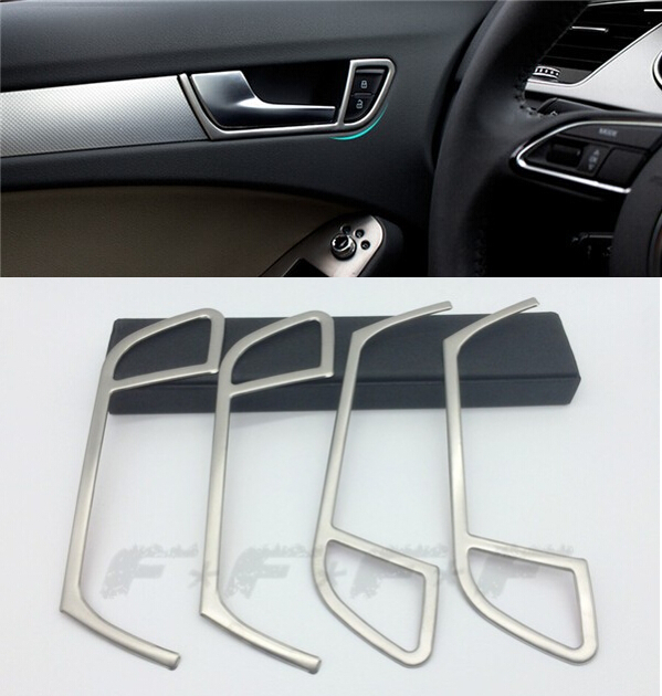 car door handle decorative cover trim interior doorknob frame cover stainless steel strip 3d. Black Bedroom Furniture Sets. Home Design Ideas