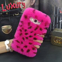 Luxury Genuine Real Rex Rabbit Hair Fur diamond coque Funda Case Samsung Galaxy S3 S4 S5 Neo S6 edge plus C7 C5 Carcasa Capa - MagicBuying store
