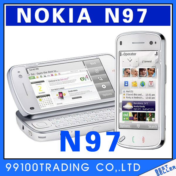 Original Unlocked Nokia N97 3G WIFI 5MP 32GB N97 MINI Mobile phone Symbian S60 Good quality refurbished Free Shipping(China (Mainland))