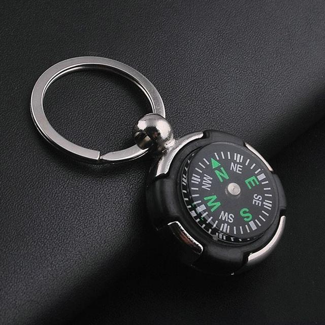 7 Styles Compass Bottle Opener Keychains