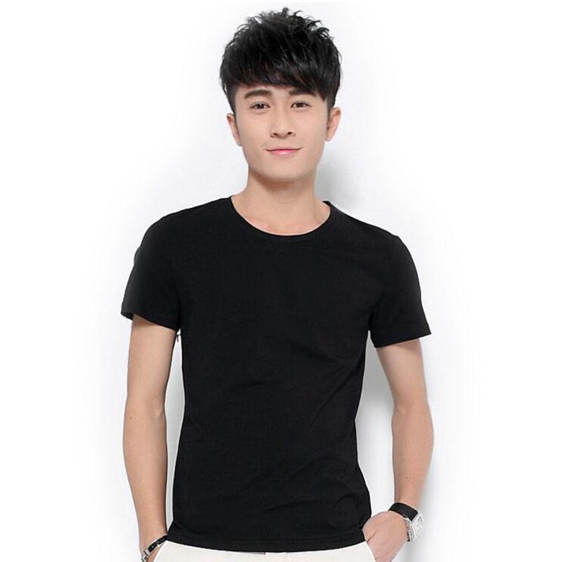 Good quality cotton t shirt men 2016 famous brand design for Good t shirts brands