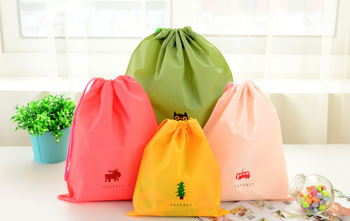2pcs/lot Waterproof Storage Bags Travel Shoe Laundry Lingerie Makeup Pouch Cosmetic Underwear Organizer 3 sizes can choose GYH(China (Mainland))