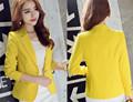 2016 New Long Sleeved Slim Women Blazers And Jackets Small Suit Korean Version Slim S XXL