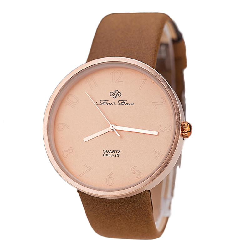 Upscale Texture Genuine Leather Quartz Watch Women Ladies Fashion Dress Wristwatch Retro Casual Female Watch montre femme homme<br><br>Aliexpress
