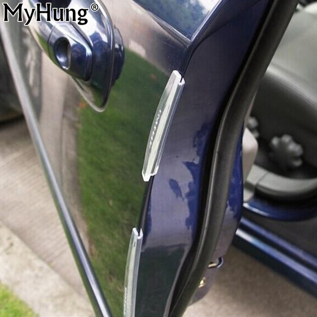 Door Edge Guards Trim Molding Protection Strip Scratch Protector Car Crash Barriers Door Guard Collision For All Car 1set UAP05