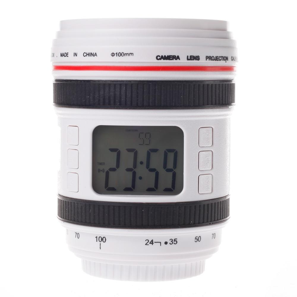 1408 Camera Lens Music Calender Alarm Clock Perpetual Calender(China (Mainland))