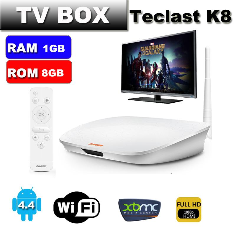 Teclast K8 MINI PC TV box 1GB DDR3 8GB eMMC YunOS Operating system 2.0GHz H8 processer TV Box 4K Octa Core 64Bit Dual Channel(China (Mainland))