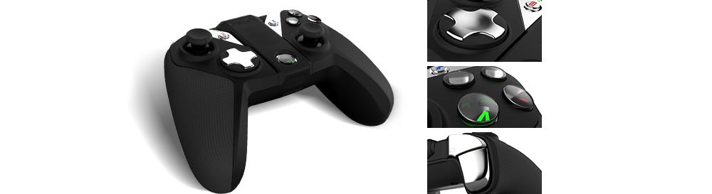 ถูก GameSir G4s 2.4กิกะเฮิร์ตซ์ไร้สายบลูทูธGamepadควบคุมสำหรับPS3 A Ndroidทีวีกล่องมาร์ทโฟนแท็บเล็ตพีซีVRเกม