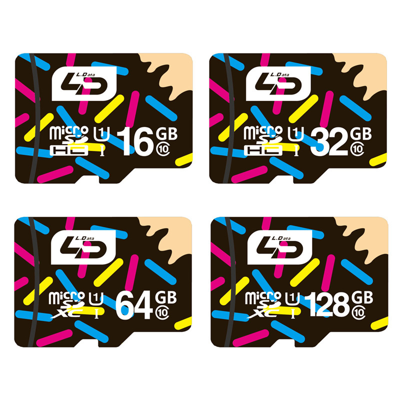 LD Micro SD Card 16GB/32GB/64GB/128GB Class 10 Memory Card Microsd Mini SD Card 4GB/8GB Class 6 for Android Smartphone/Tablet(China (Mainland))