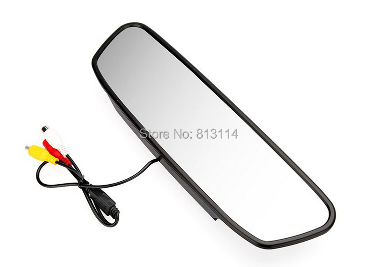 "5"" Digital TFT LCD Screen Resolution 800*480 16:9 Car Monitor Rearview Mirror Security Monitor Auto for Camera DVD VCR(China (Mainland))"