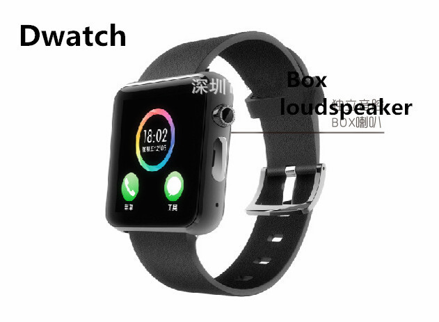 2015 Hot Original Bluetooth Smart Watch D2 Smartwatch On Wrist Watch Dwatch 2 for Android Watch(China (Mainland))