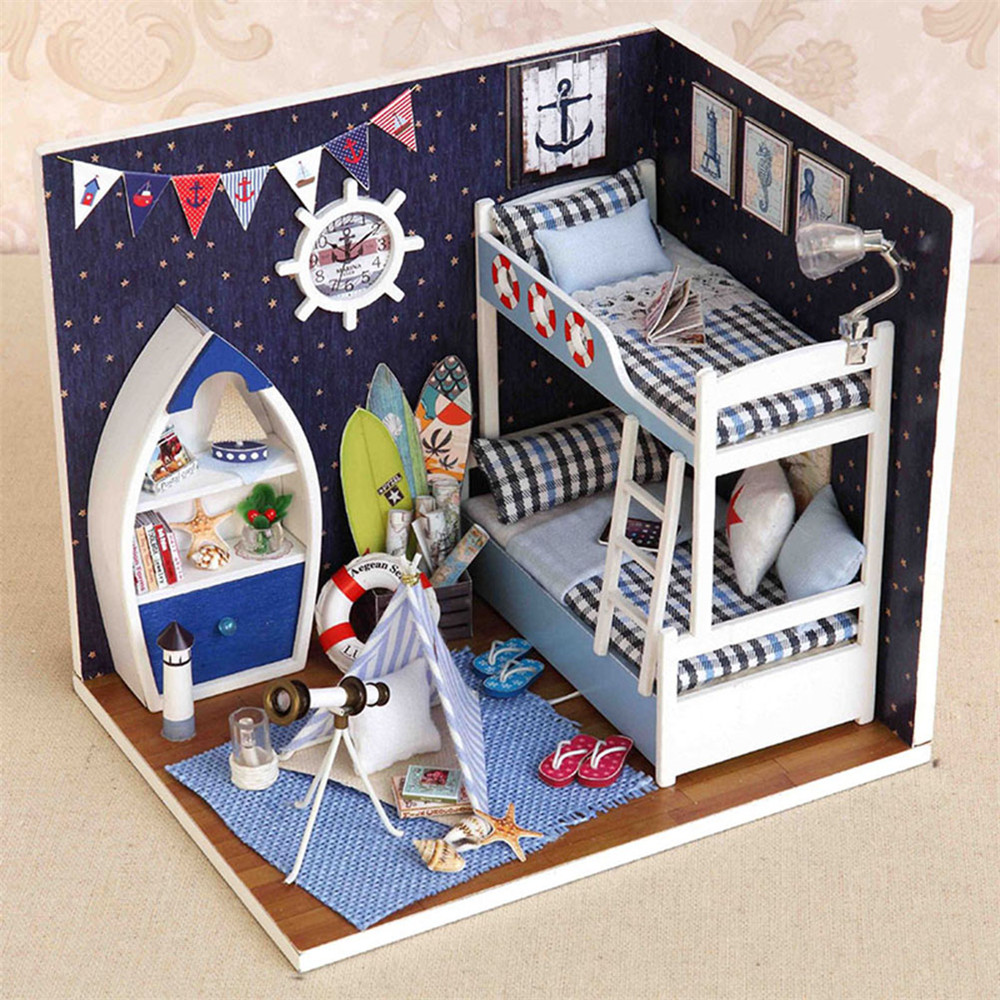 Online Get Cheap Handmade Doll Houses For Sale Aliexpress