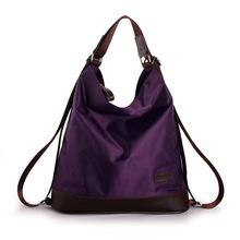 2017 Мода Женщины Нейлона Сумка Многофункциональный Водонепроницаемый Сумка Известный Дизайнер Фиолетовый Сумки Большая Сумка XA655H(China (Mainland))