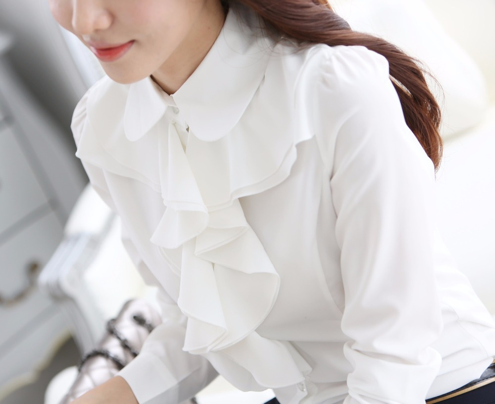 Long White Chiffon Shirt | Is Shirt