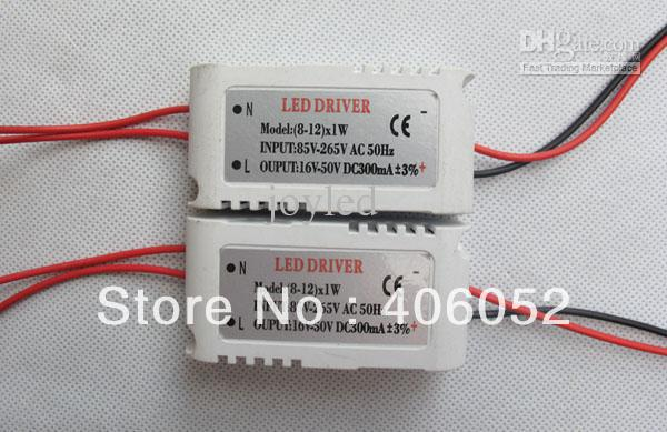 Wholesale - Free shipping no-waterproof led driver 3W LED Supply driver for led ceiling light 10pcs/lot(China (Mainland))