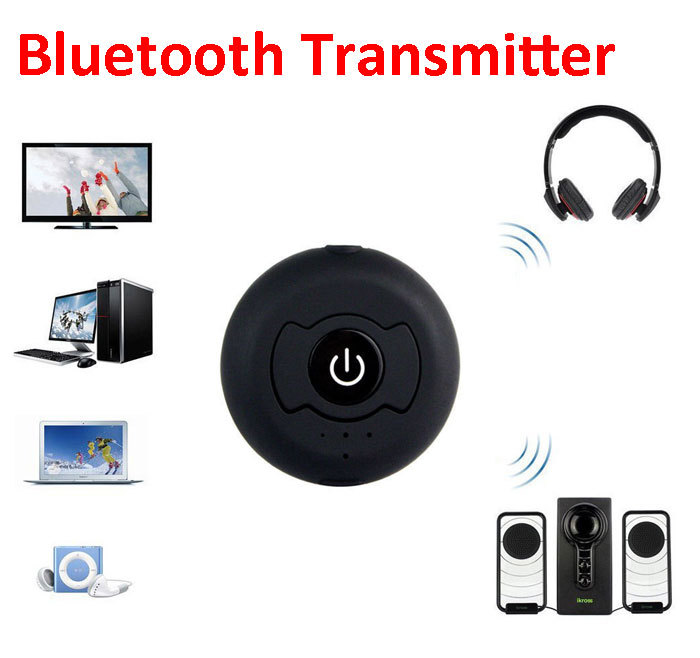 Multi-point Wireless Audio Bluetooth Transmitter Music Stereo Dongle Adapter for TV Smart PC DVD MP3 H-366T Bluetooth 4.0 A2DP(China (Mainland))