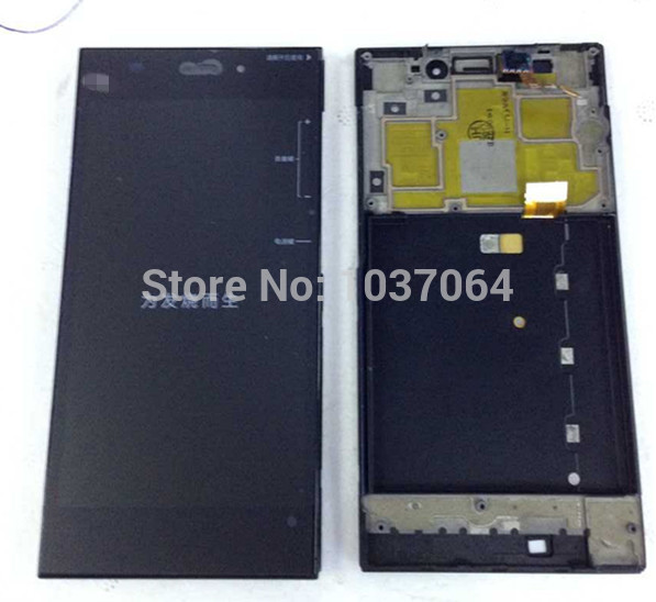LCD screen display +Touch digiziter with frame For Xiaomi m3 mi3 WCDMA &TDS-CDMA Free shipping