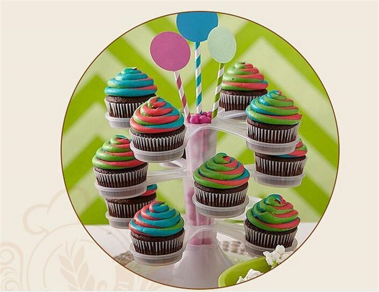 Icing Piping Bag Nozzle Converter Tri-color Cream Coupler Cake Tools Cupcake Fondant Cookie Decorating Bags Converter Cake Tools1