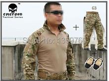 Buy Emerson bdu Free Combat uniform shirt & Pants & knee pads Military Army u MultiCam suit EM8567+8527 for $106.67 in AliExpress store