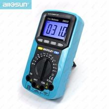 all-sun 5 in 1 Digital Multimeter Sound Level Humidity Luminosity Temperature  LCD AC/DC Multimeter Volt Amp Ohm Tester EM5510